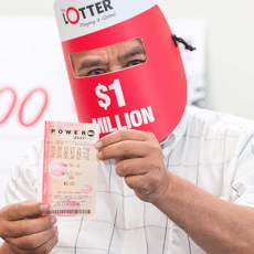 RETIREE WINS $1 MILLION