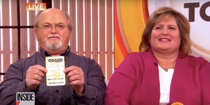 Lisa and John Robinson winners