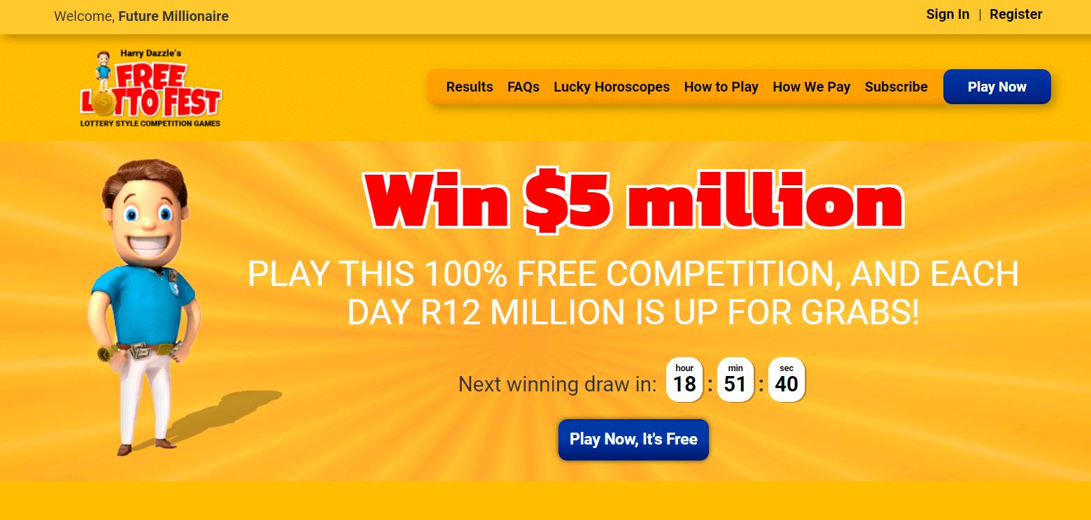 Free Lotto Fest