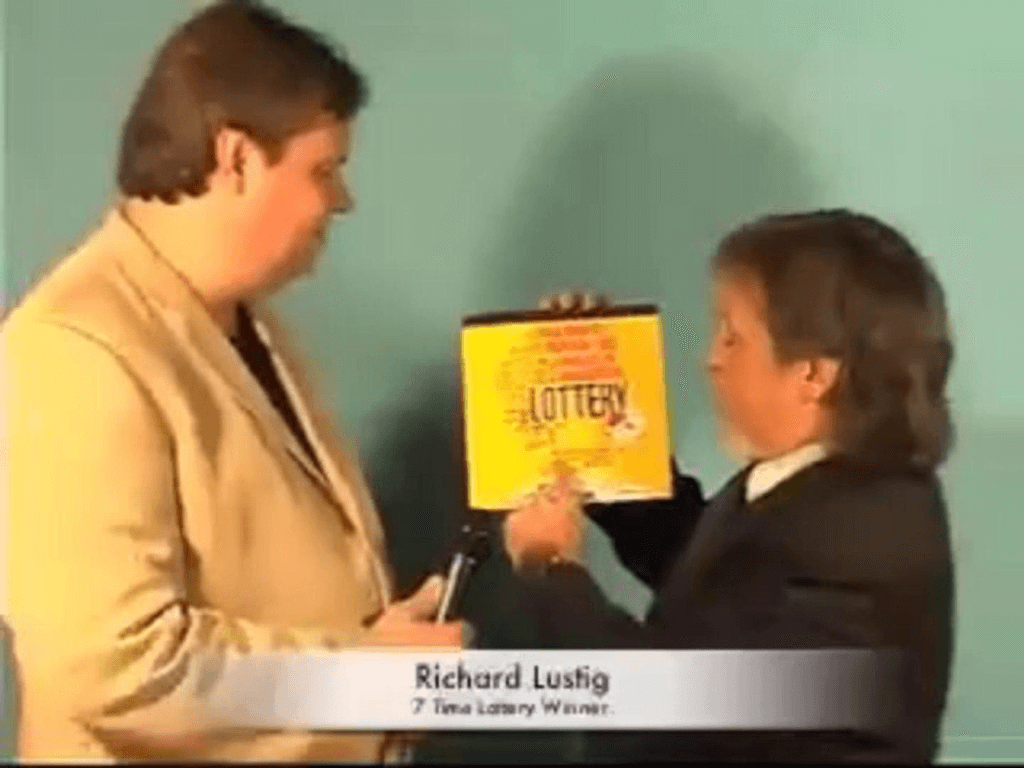Richard Lustig – A Tale of the Most Famous Lottery Winner1